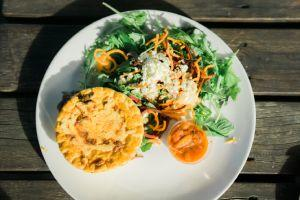 Sund grön sallad för catering i fester | Stockholm Food